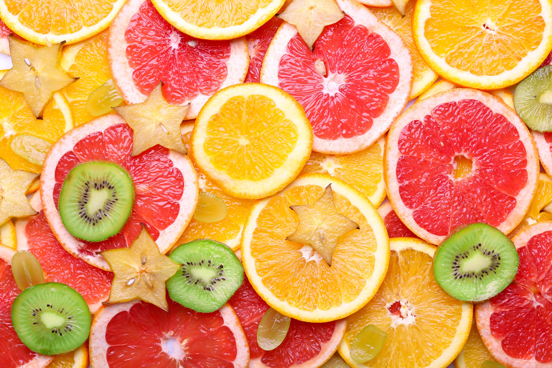 дольки грейпфрута  № 2133981 без смс