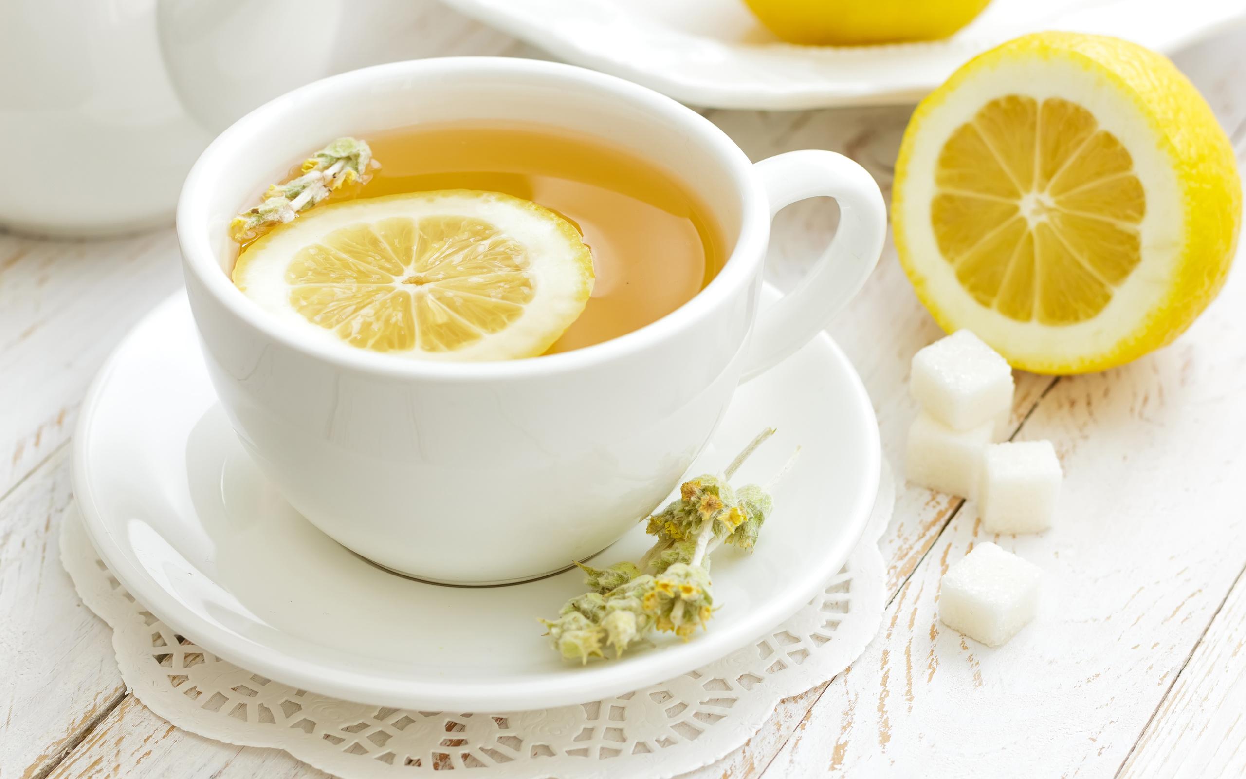 чай лимон чашка бесплатно