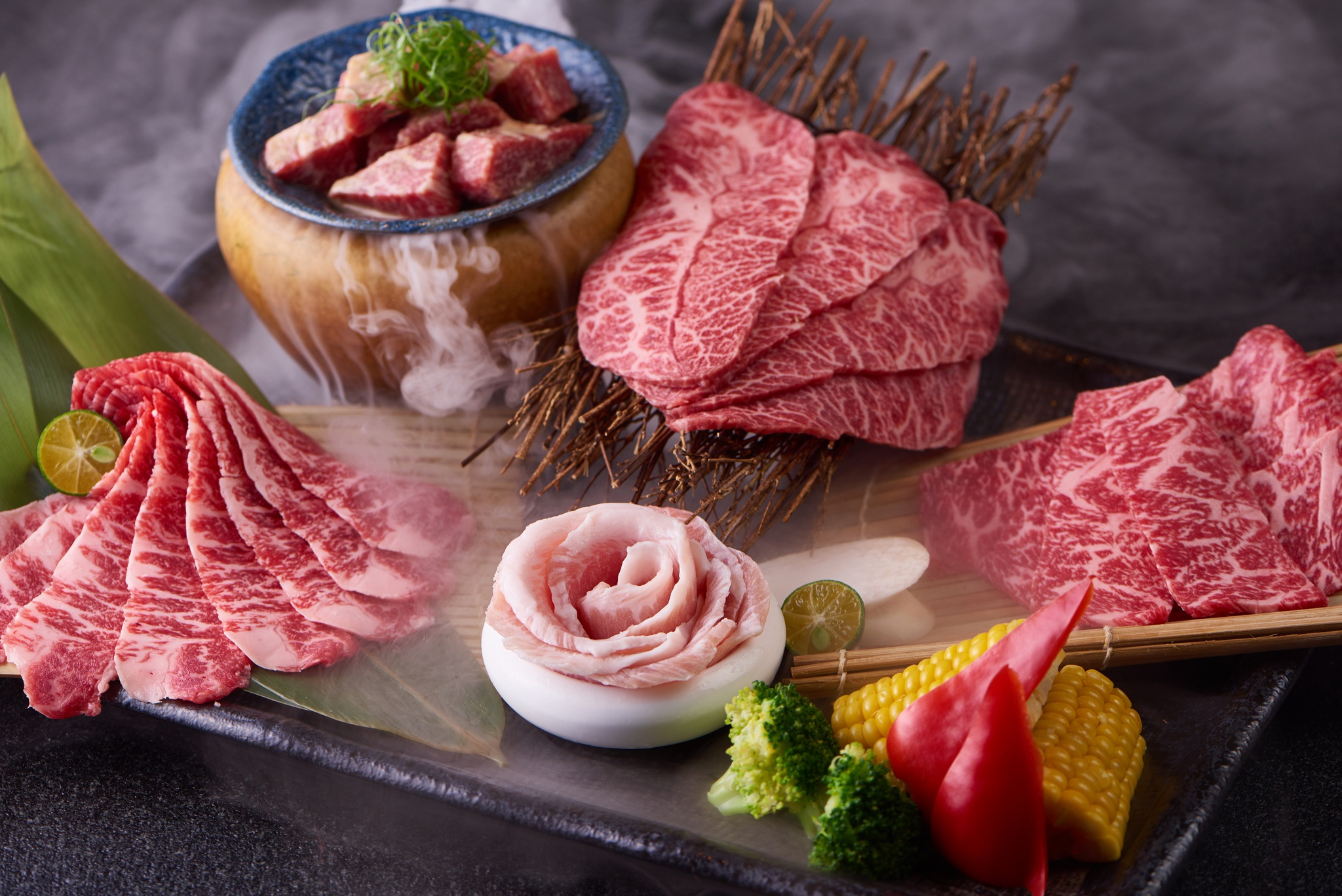 Мясо с овощами без смс