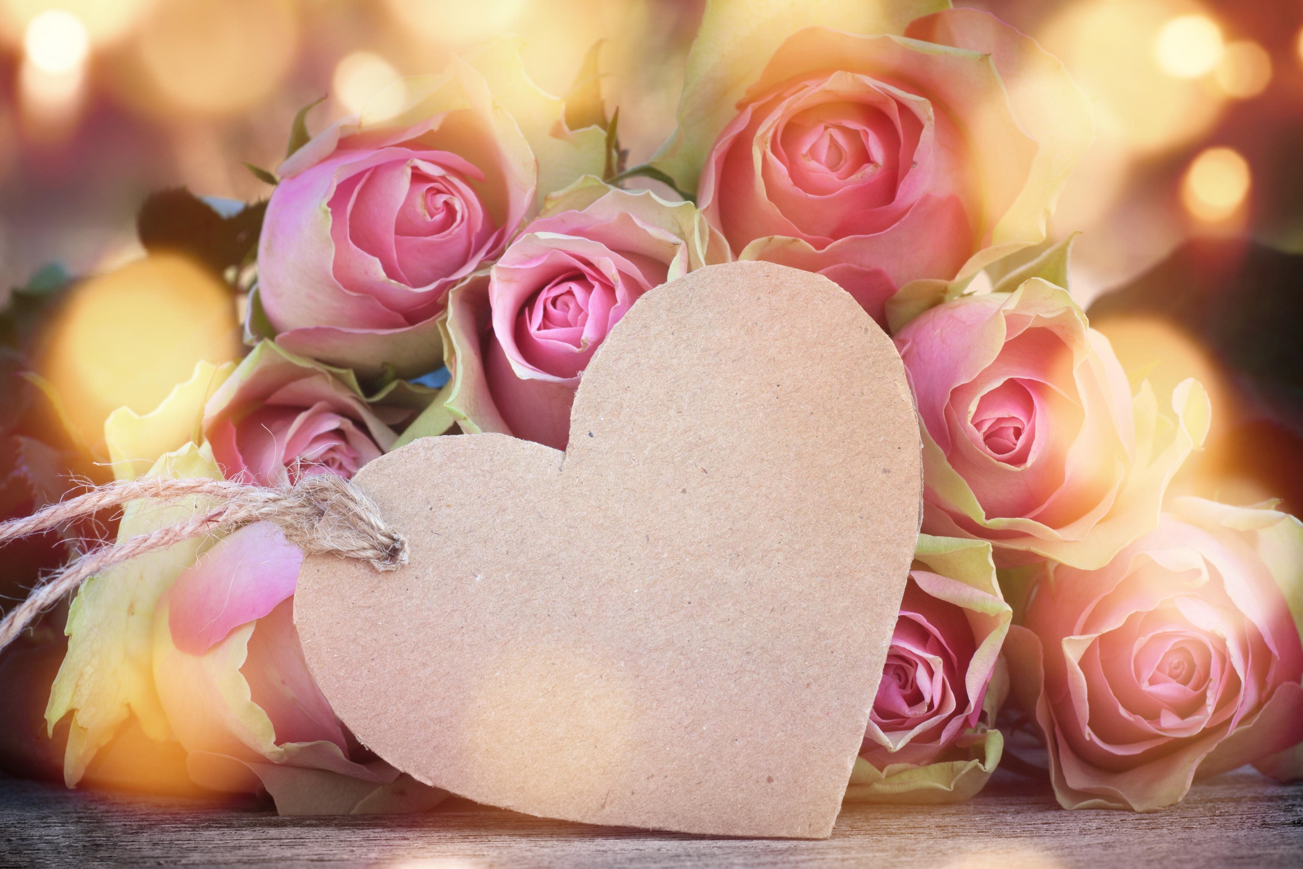 Картинки сердечные цветочные