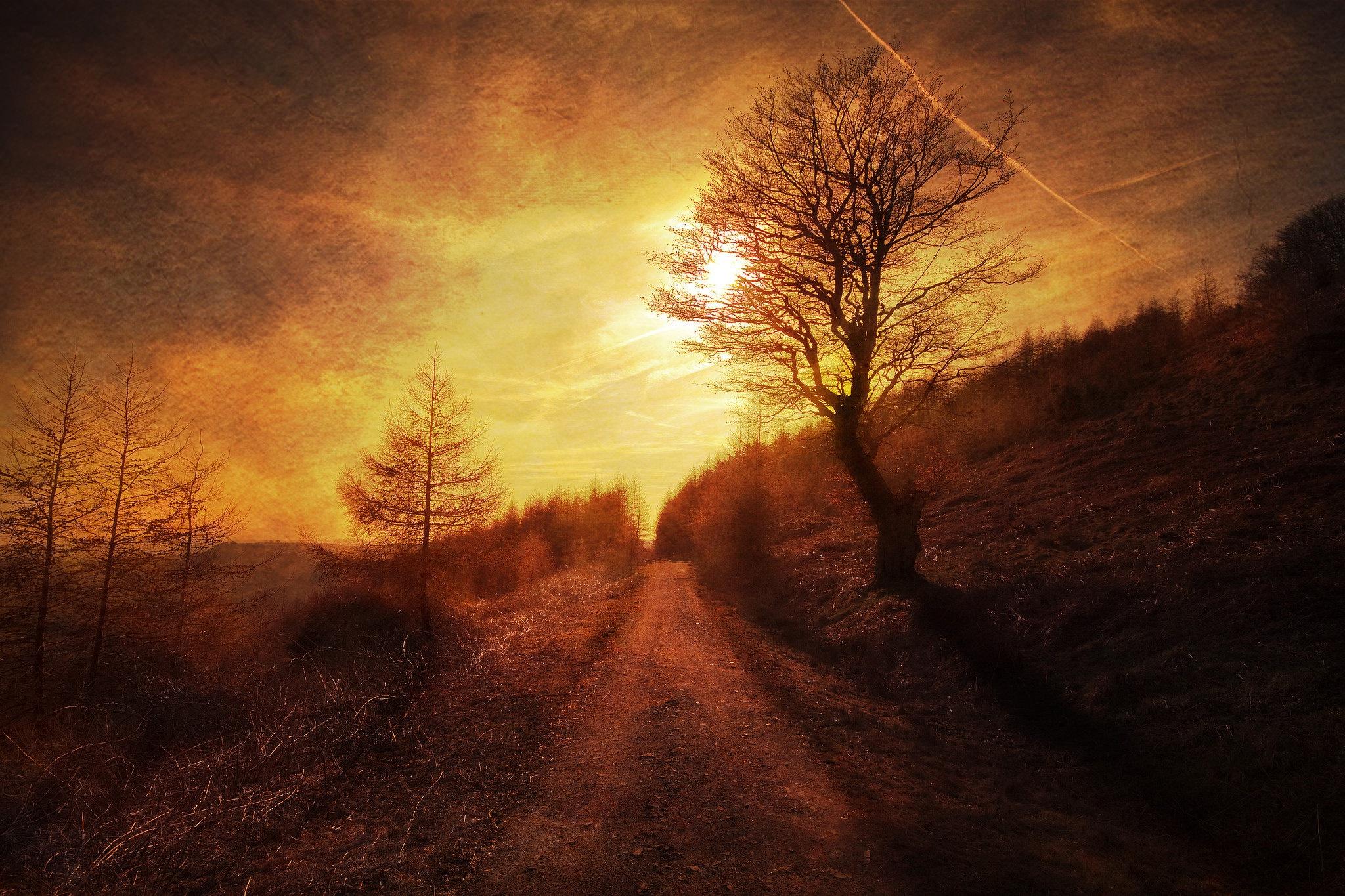 закат склон sunset the slope  № 1569330 загрузить