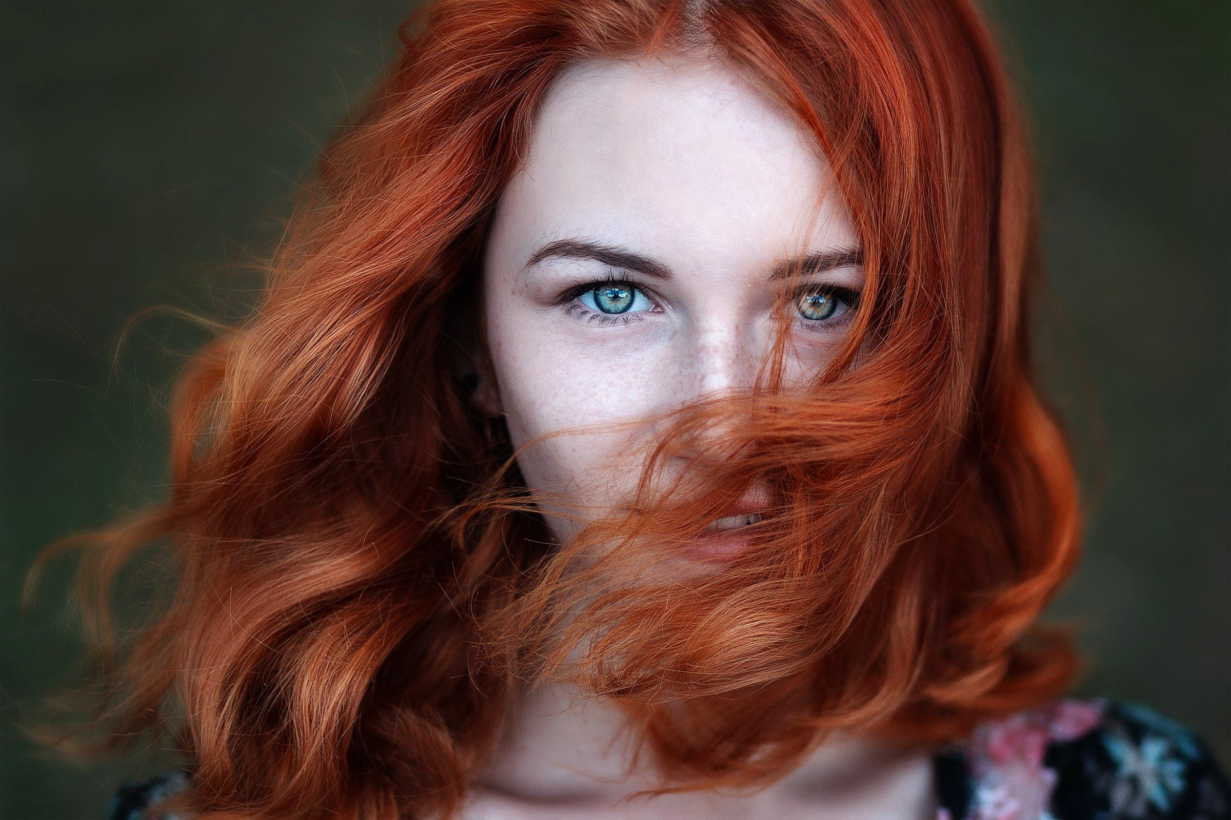Рыжая девка всех фото 13