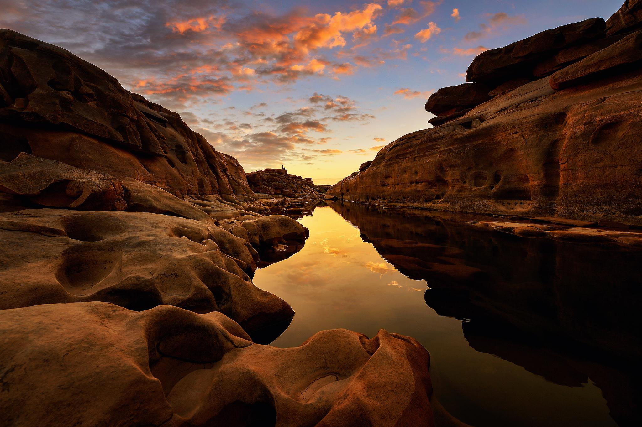 природа горы скалы река отражение nature mountains rock river reflection без смс
