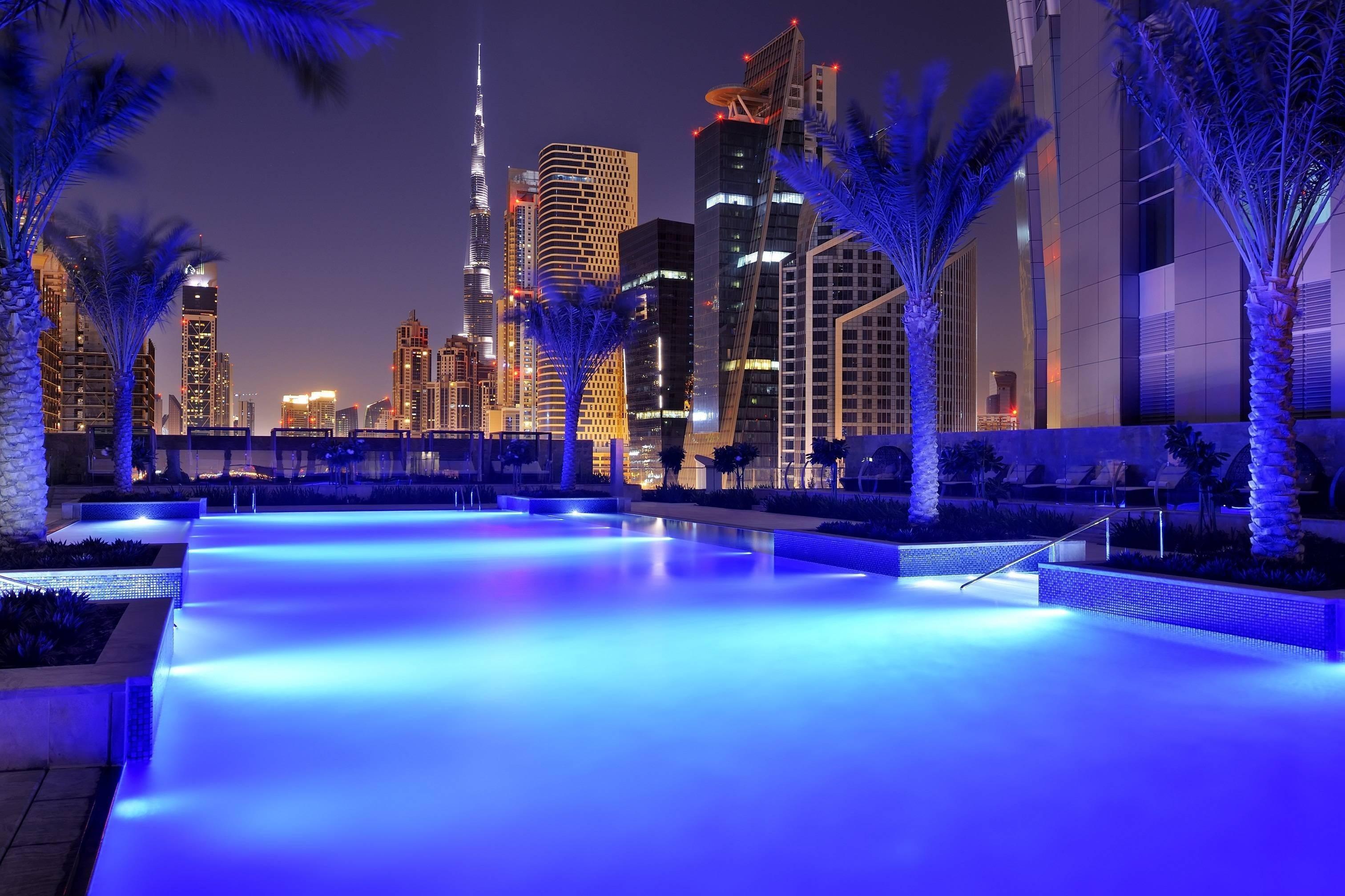 бассейн ночь pool night бесплатно