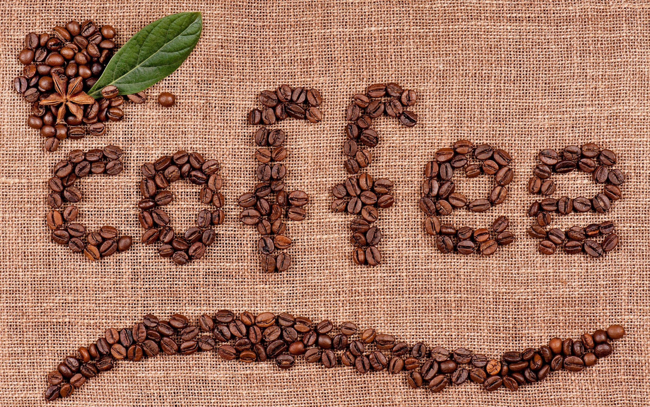 постер из кофейных зерен должна быть