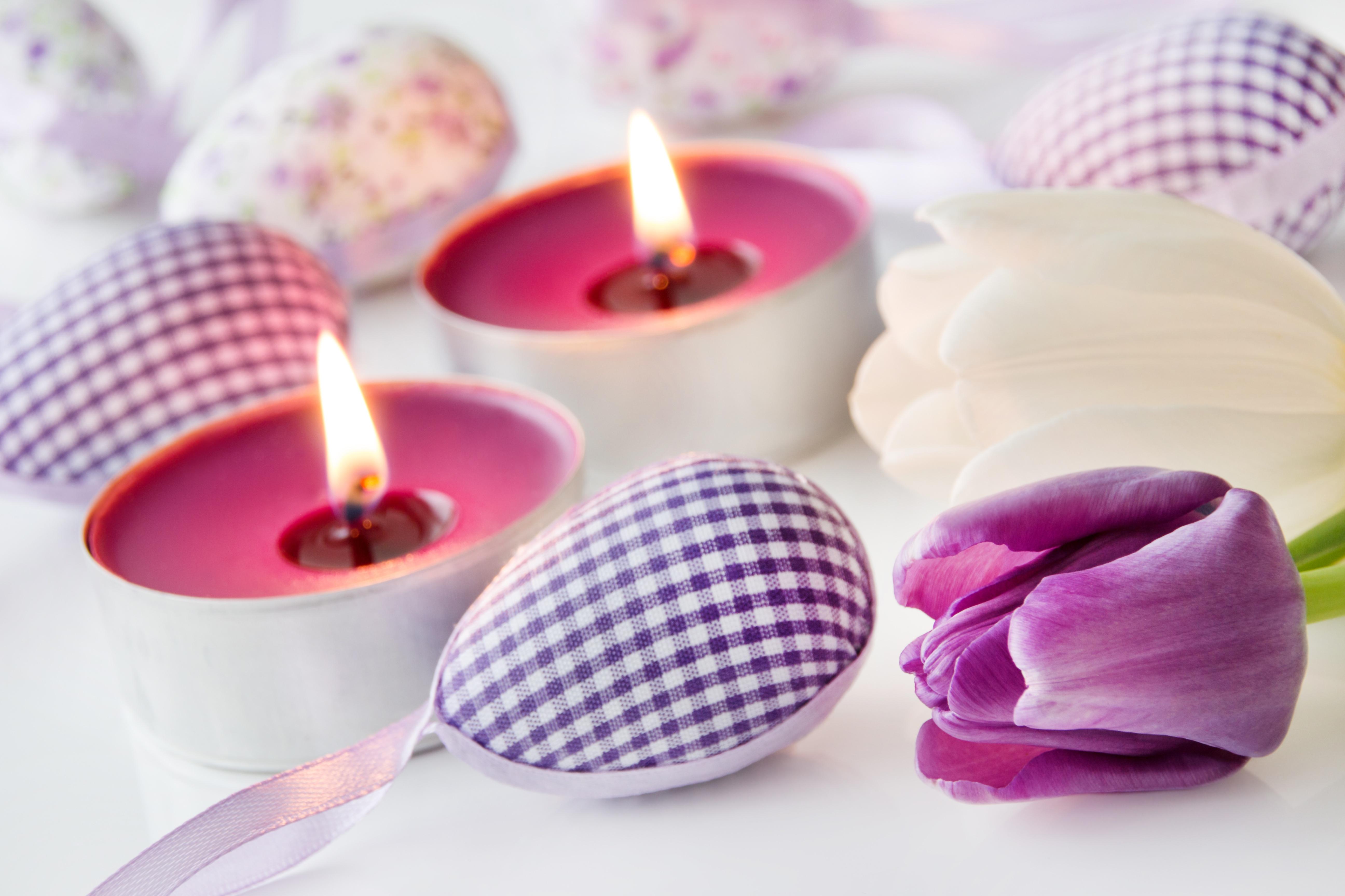 цветы свечи без смс