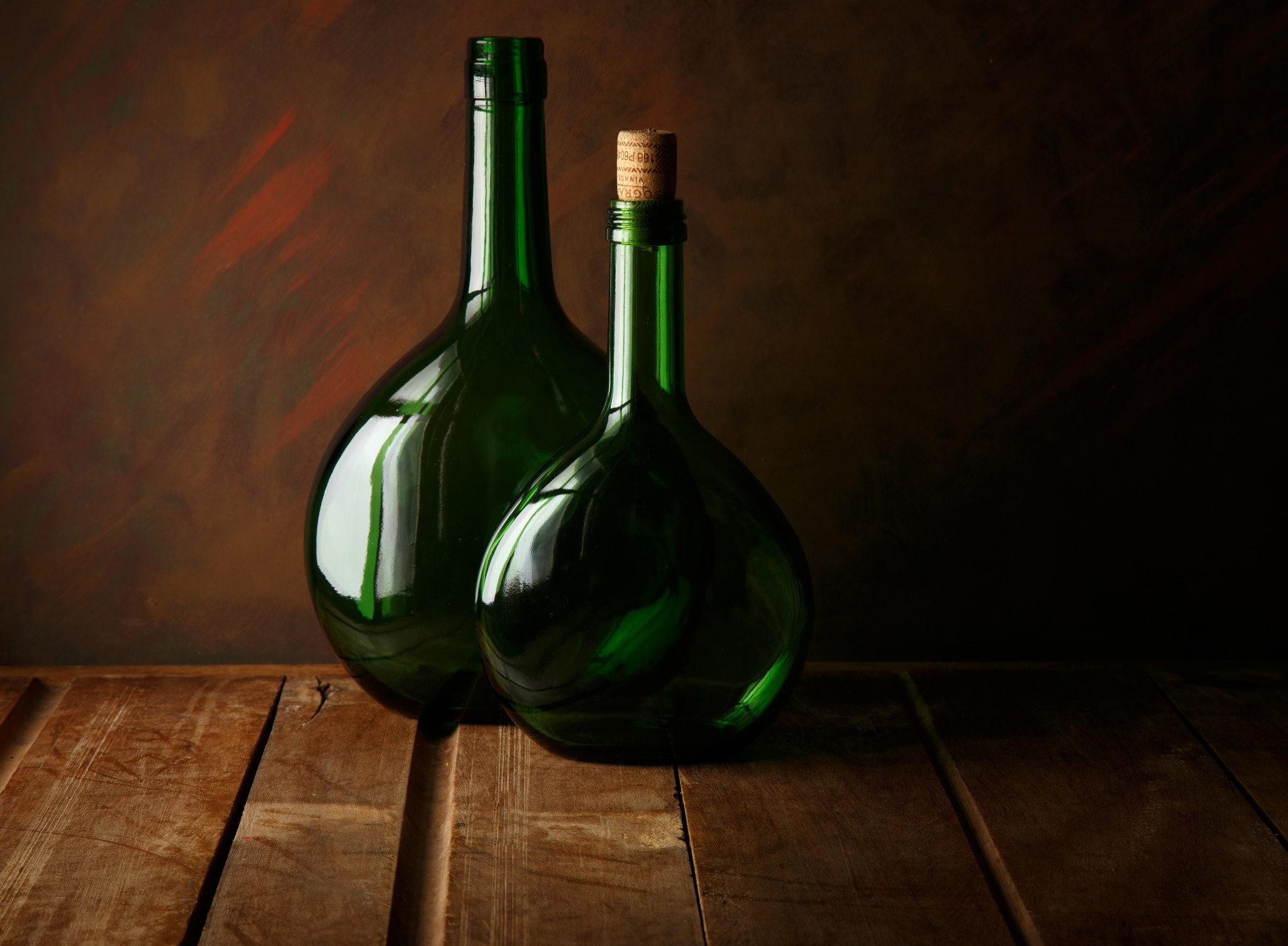 Old green bottles photos How to Make an Etched Glass Water Bottle - Creative Green