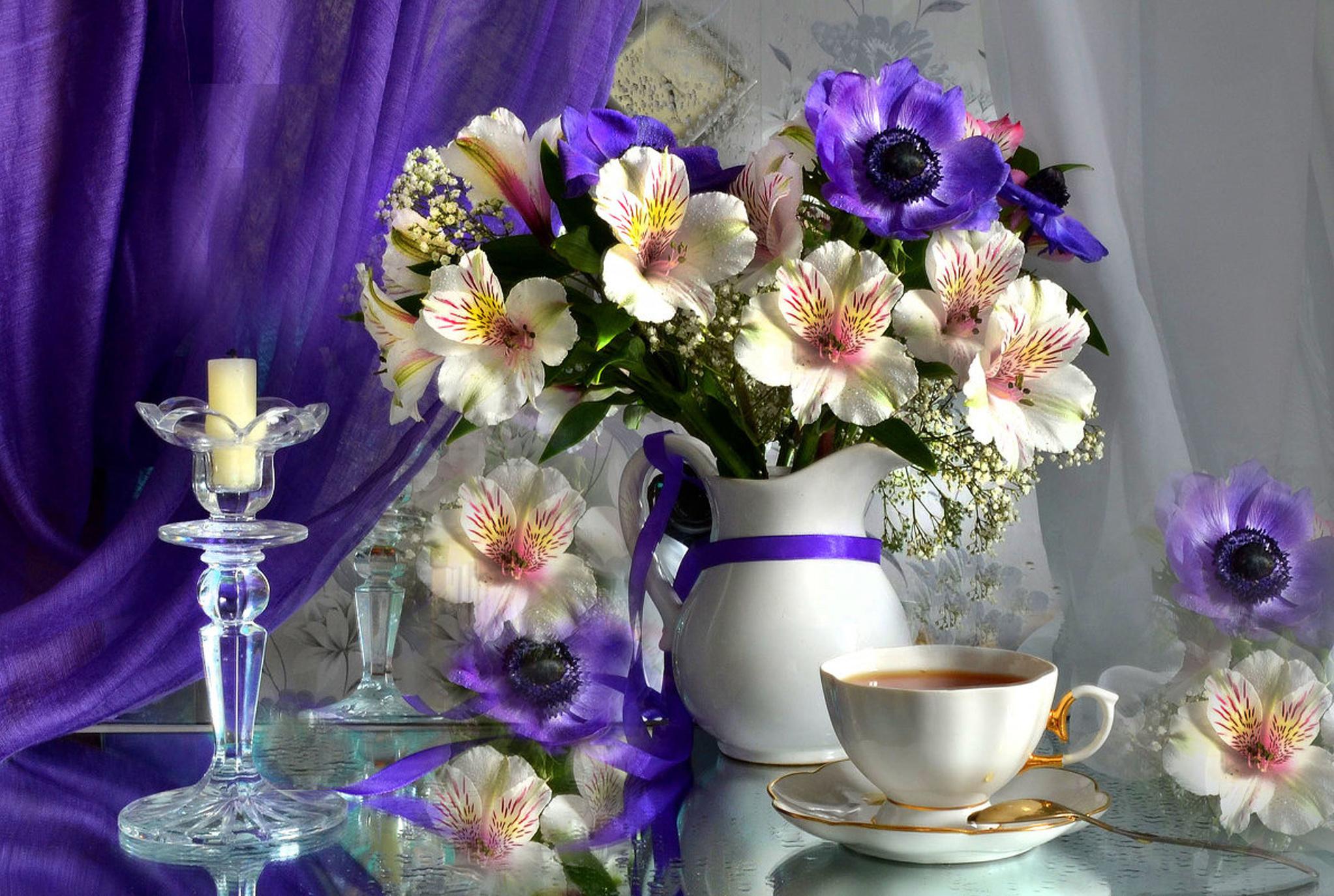Приятного вечера картинка с цветами, картинки февраля