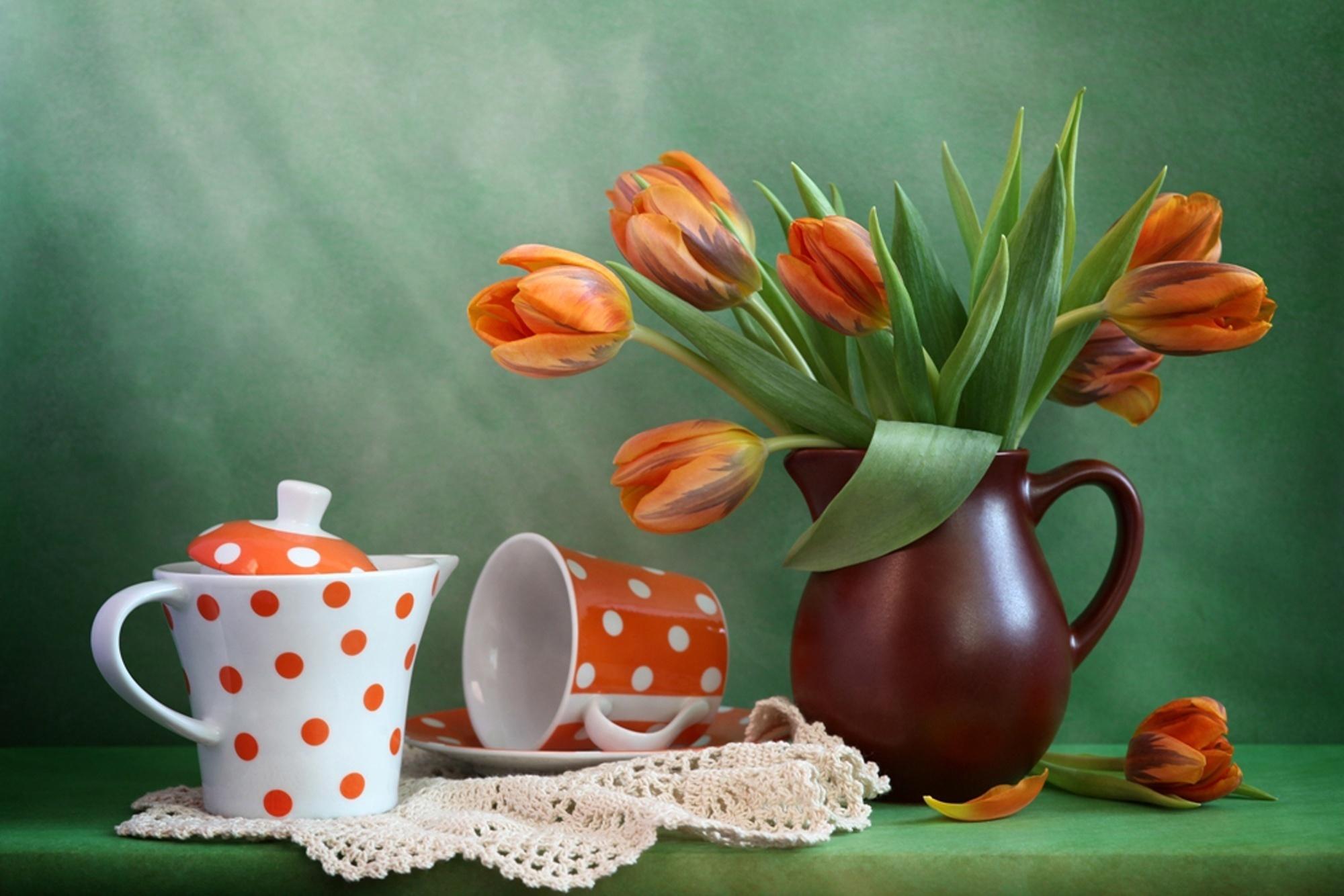 линолеума картинки чашки натюрморт будни