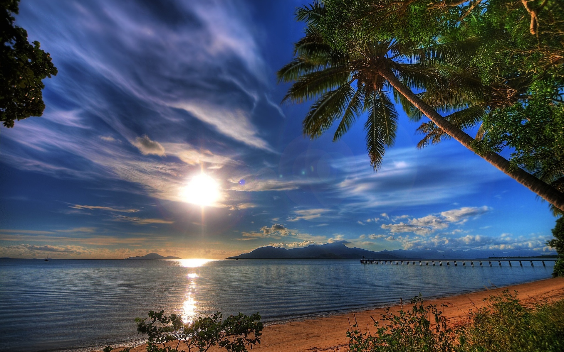 вечерний пейзаж на море картинки ефремова