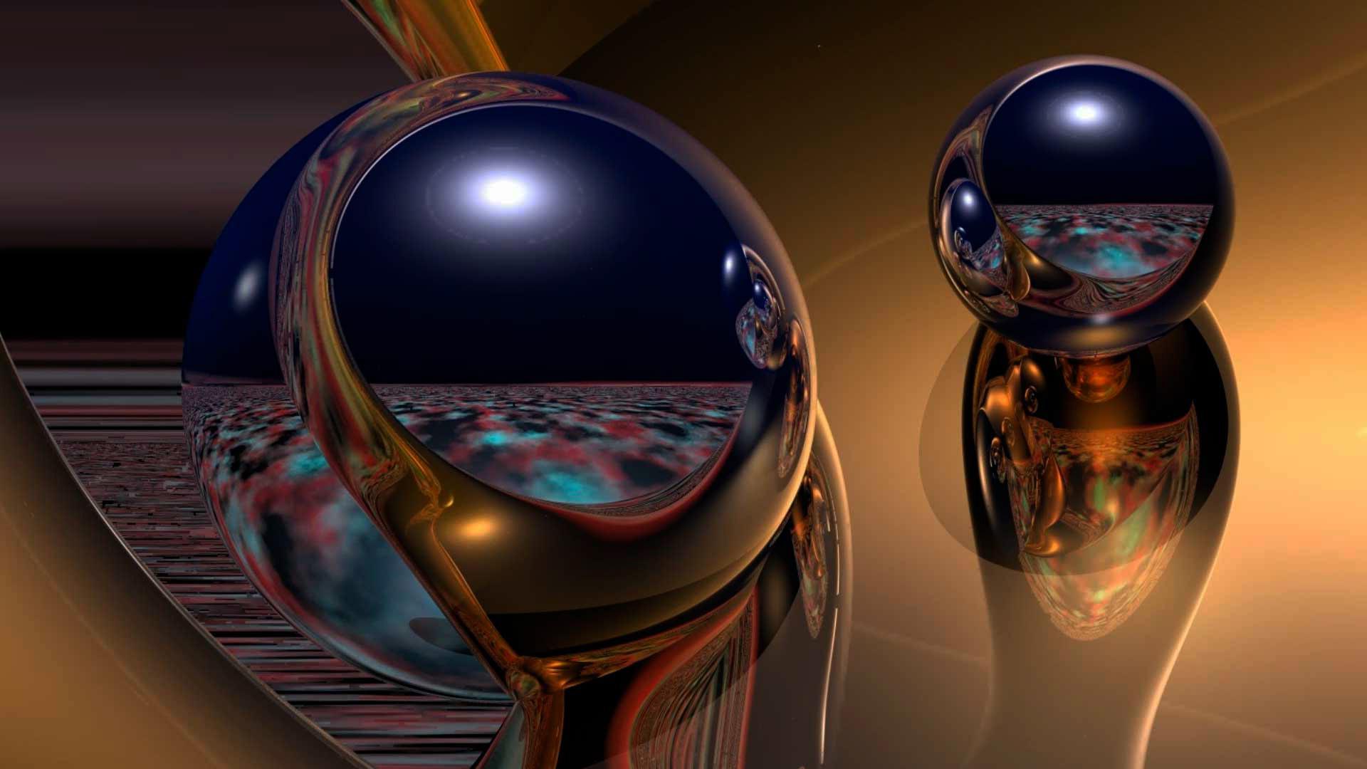 шар отражение графика ball reflection graphics скачать