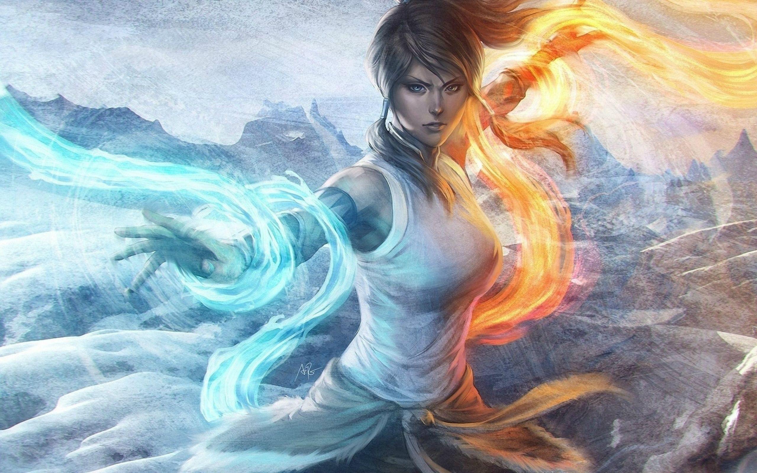 Девушки огонь и лед
