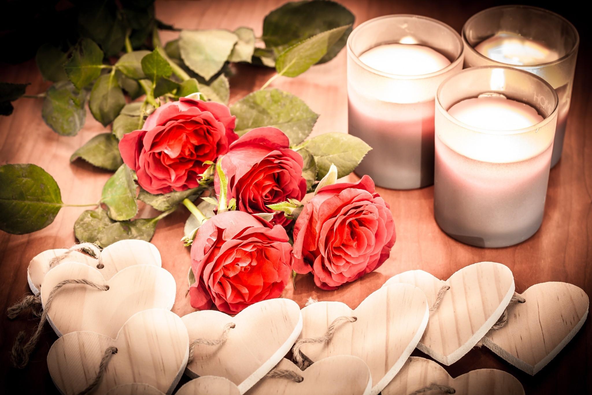 сердце свеча доски  № 3937811 бесплатно