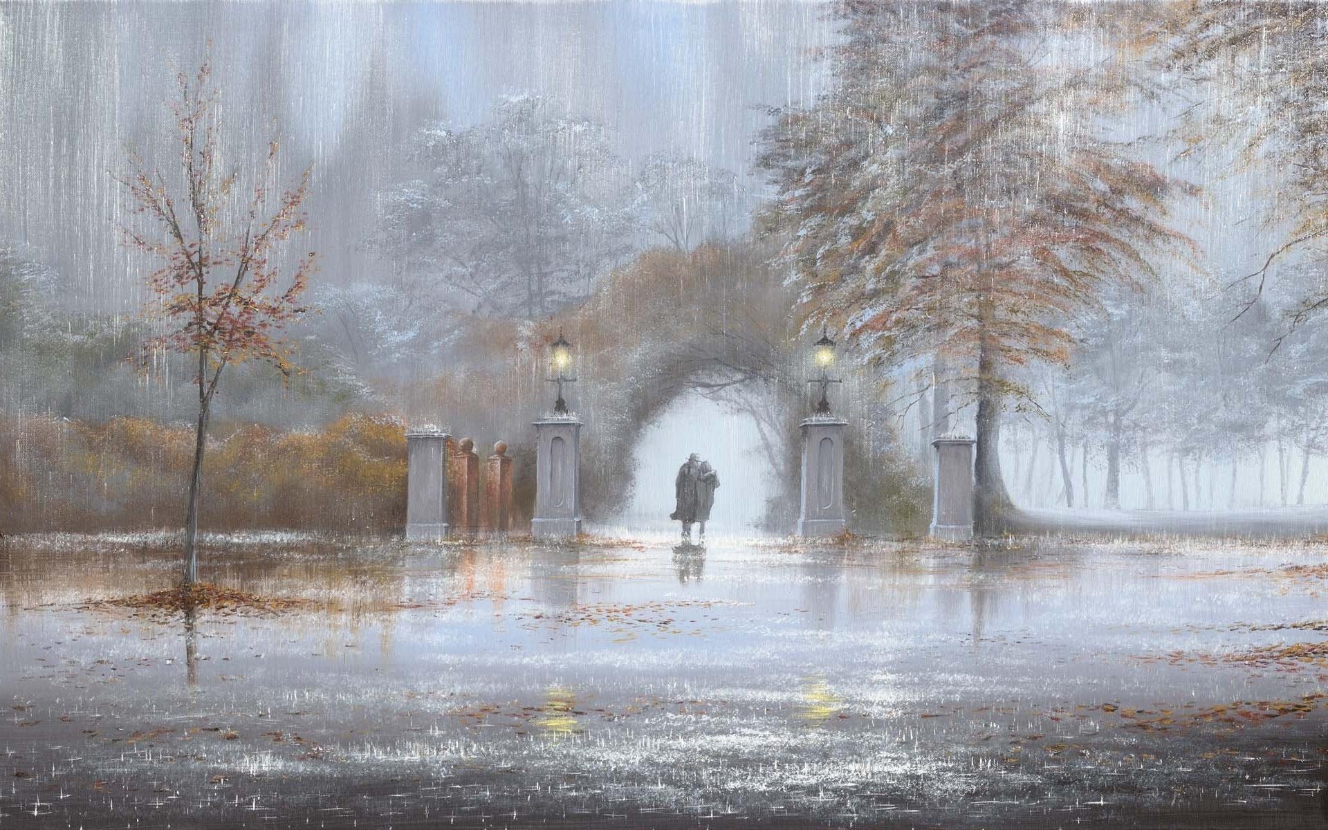 Картинки, картинки анимация дождь и снег