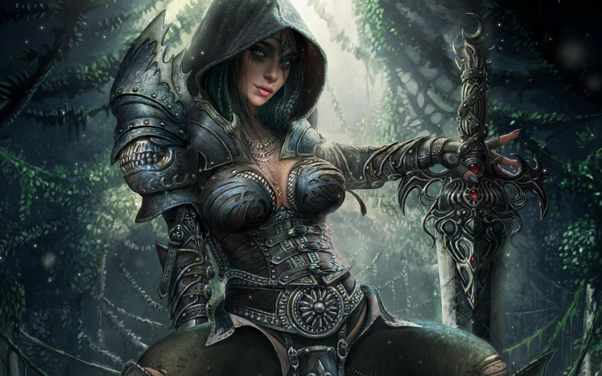 фото фэнтези девушки воины как опытный