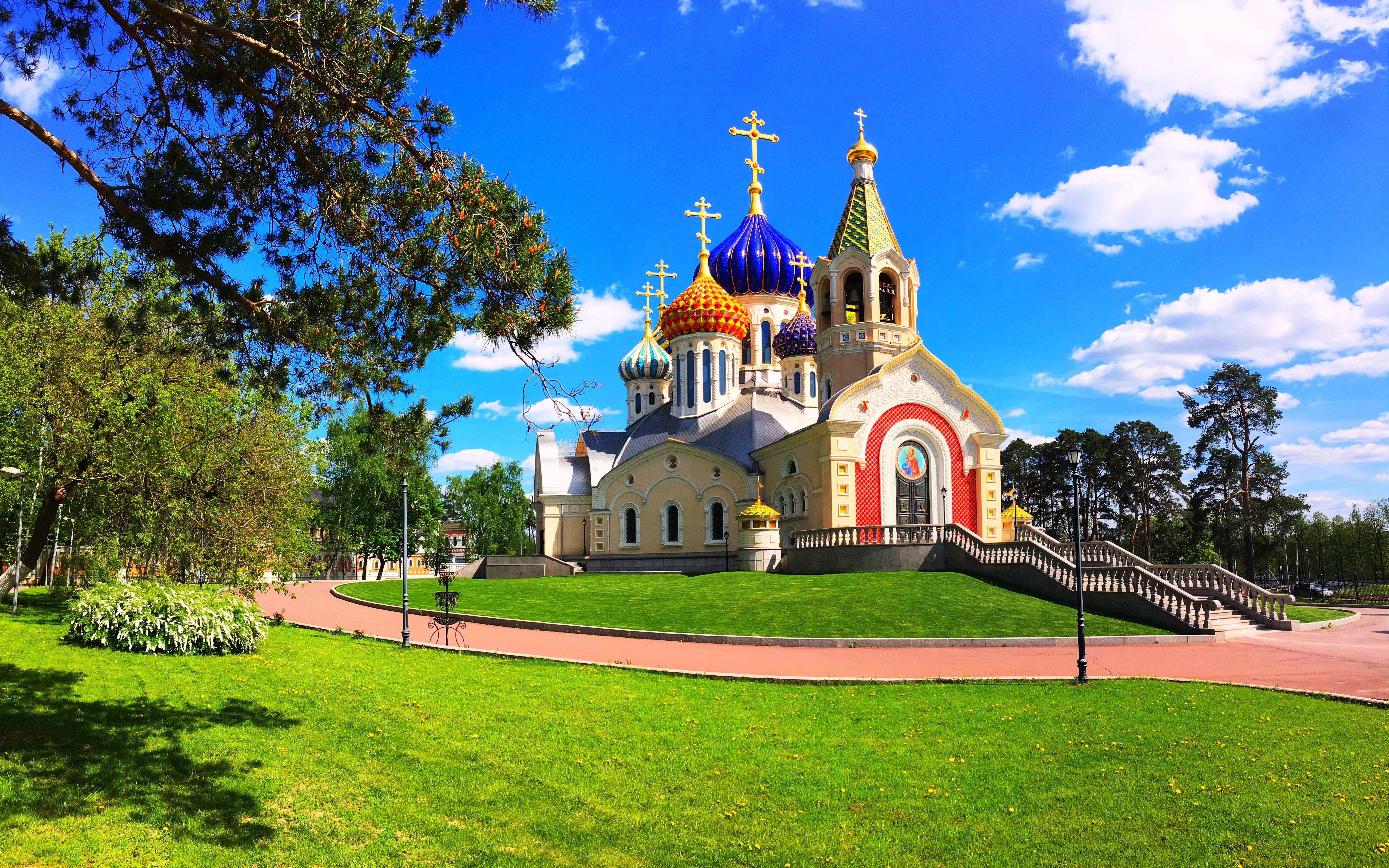 обои на рабочий стол православные храмы и монастыри лето № 217138 загрузить