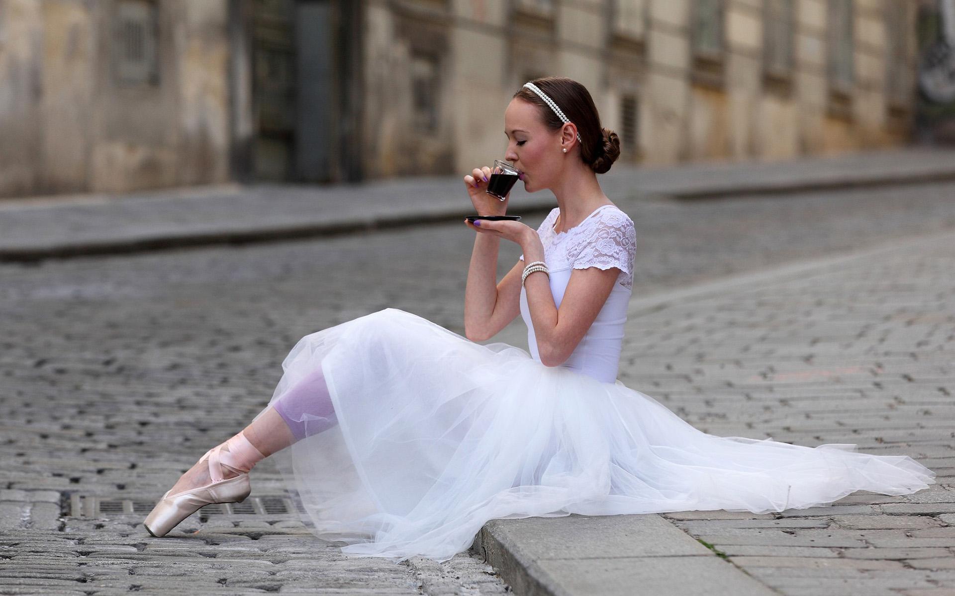 Поздравление брату, картинка с балериной