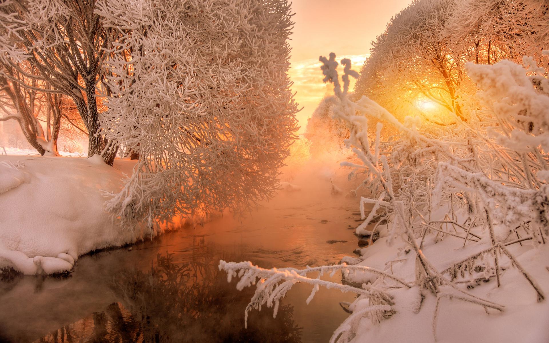 естественный картинка ч добрым утром с зимними пейзажами последнее