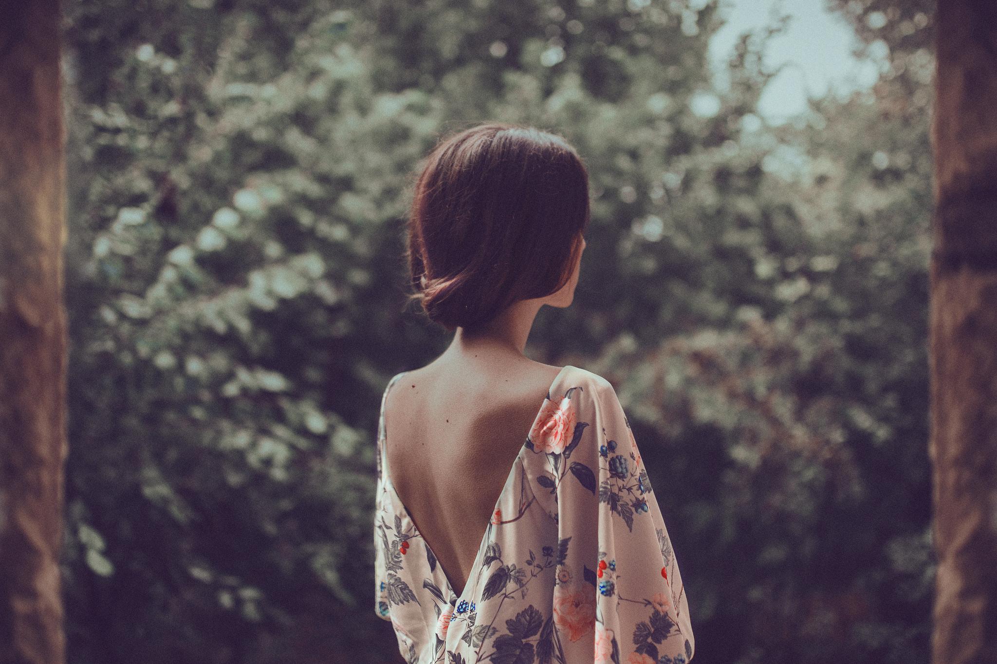 Русоволосые девушки сзади, Русые картинки (145 фото) скачать обои 25 фотография