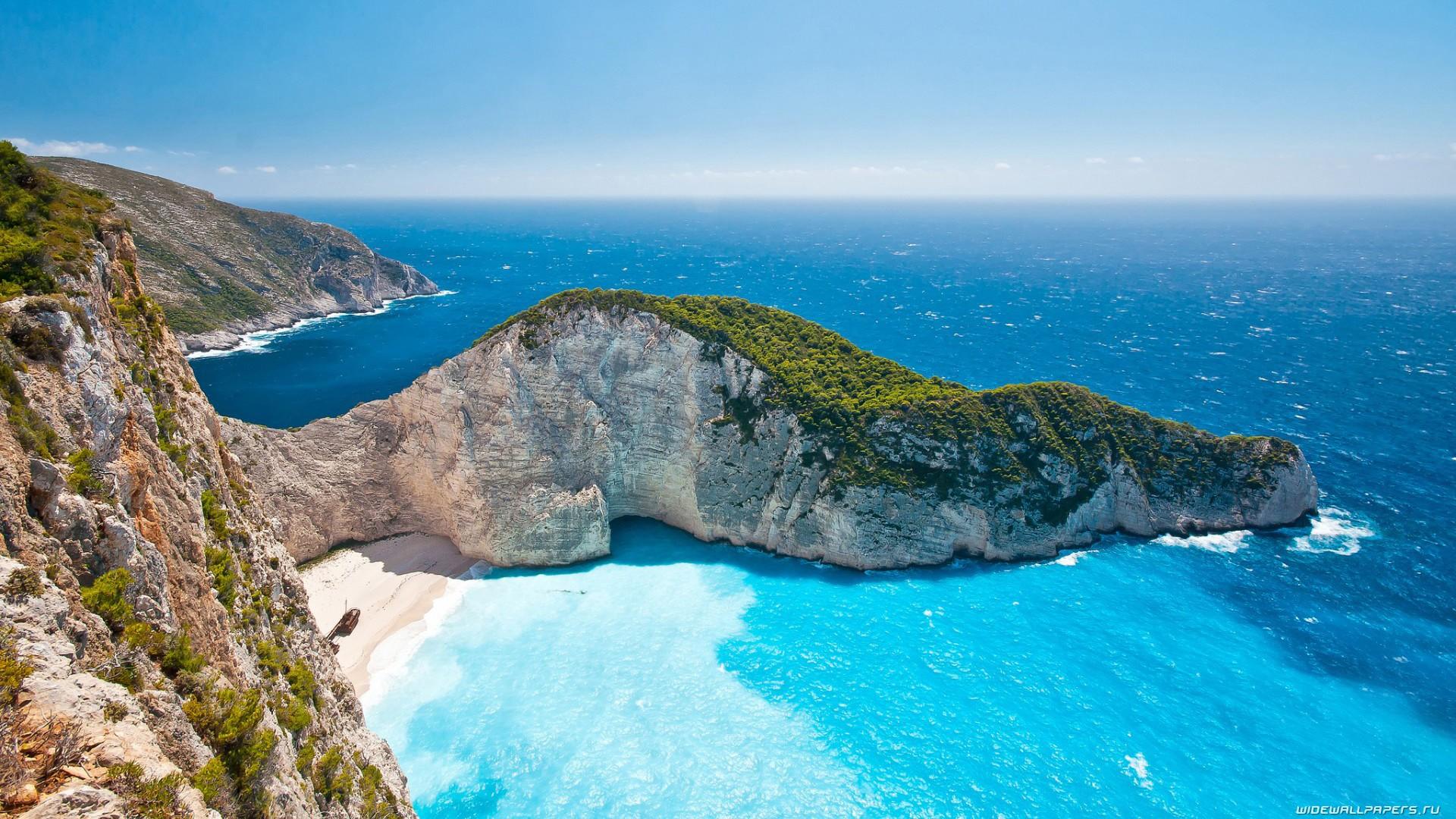 Обои побережье, greece, coast, греция. Города foto 15