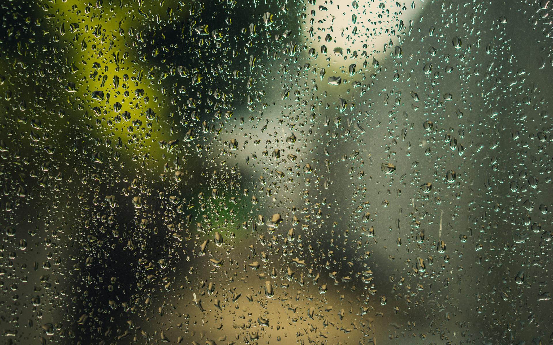 Эффект капель дождя на фото