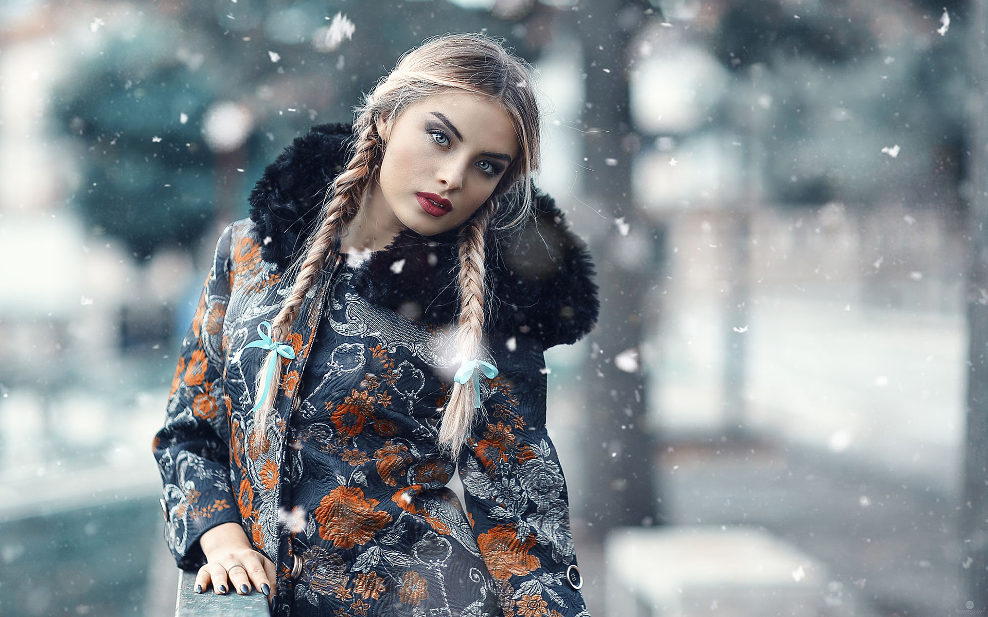как фотографировать зимой со снегом портрет большую кастрюлю наберите