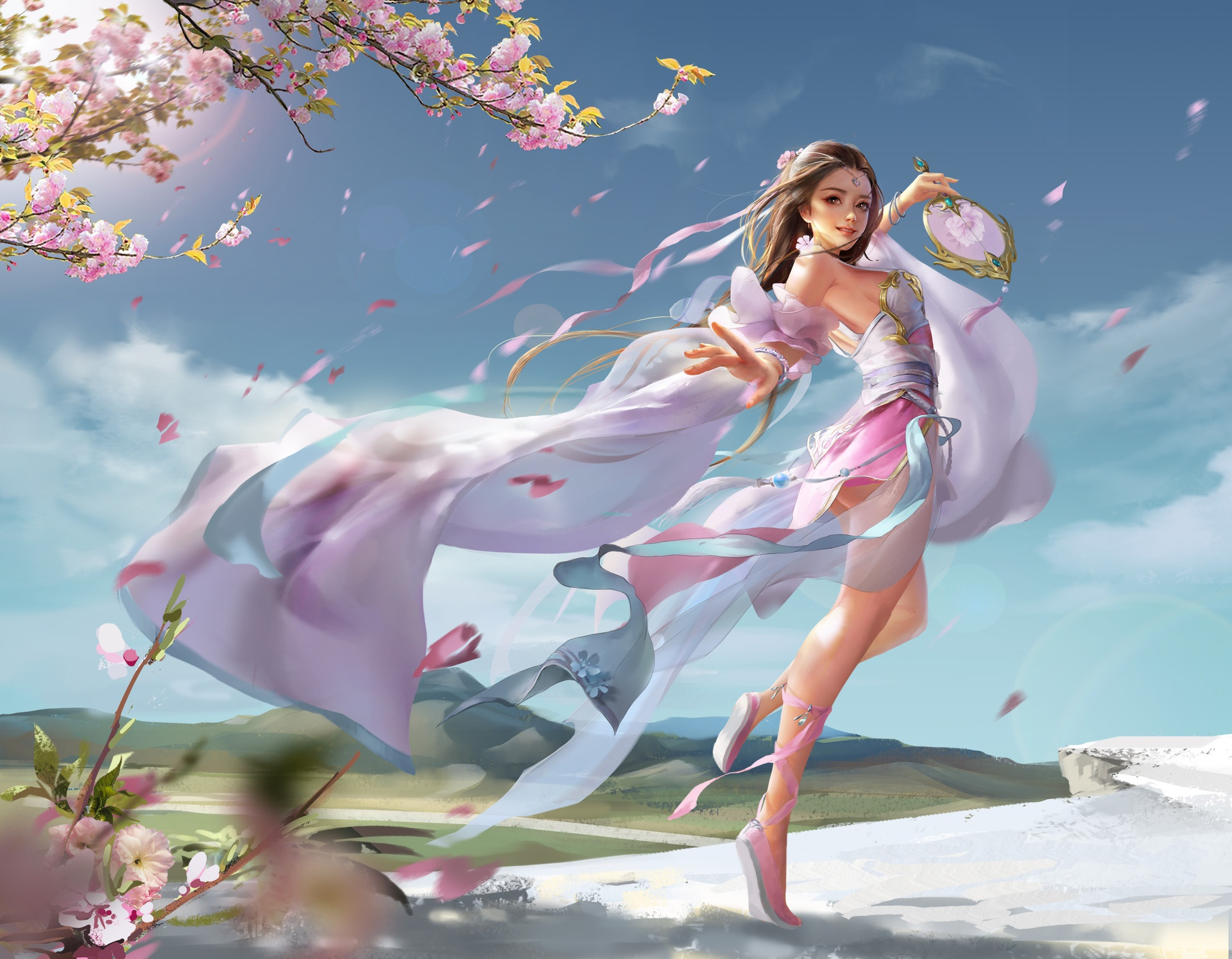 Танец с цветами картинки, или
