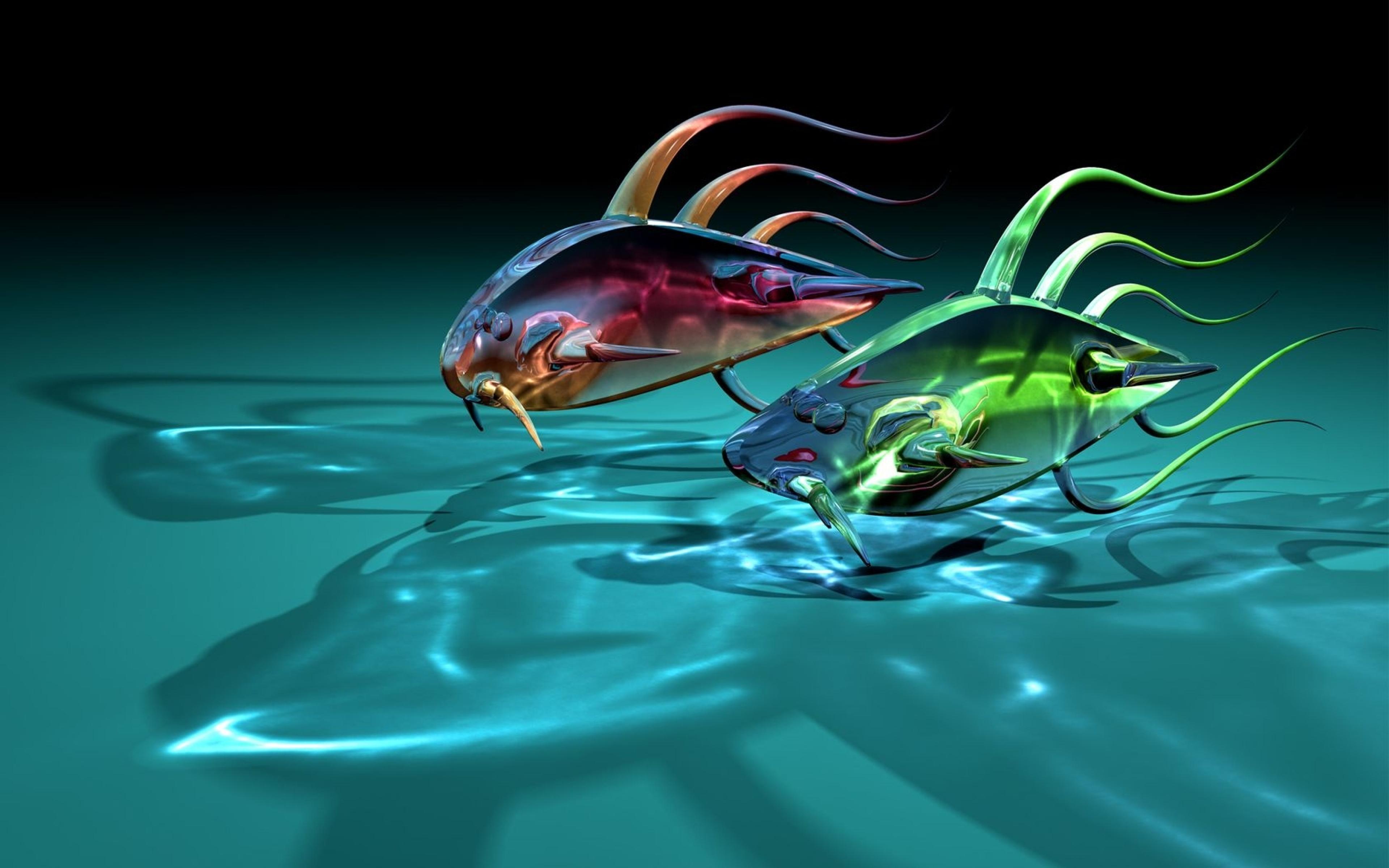 Цветная рыбка скачать