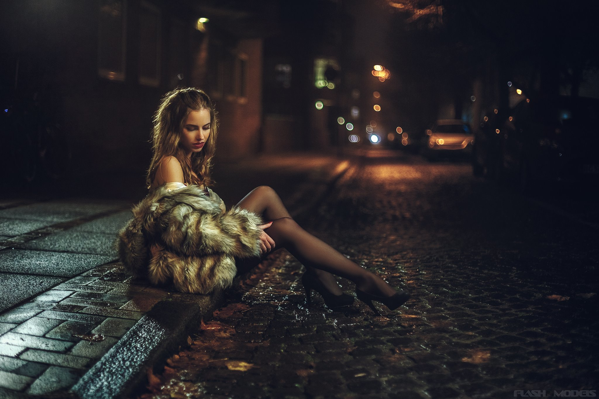 Night sexy girl #12