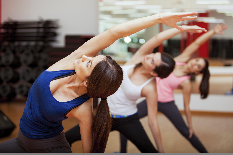 Девушки на йоге #14