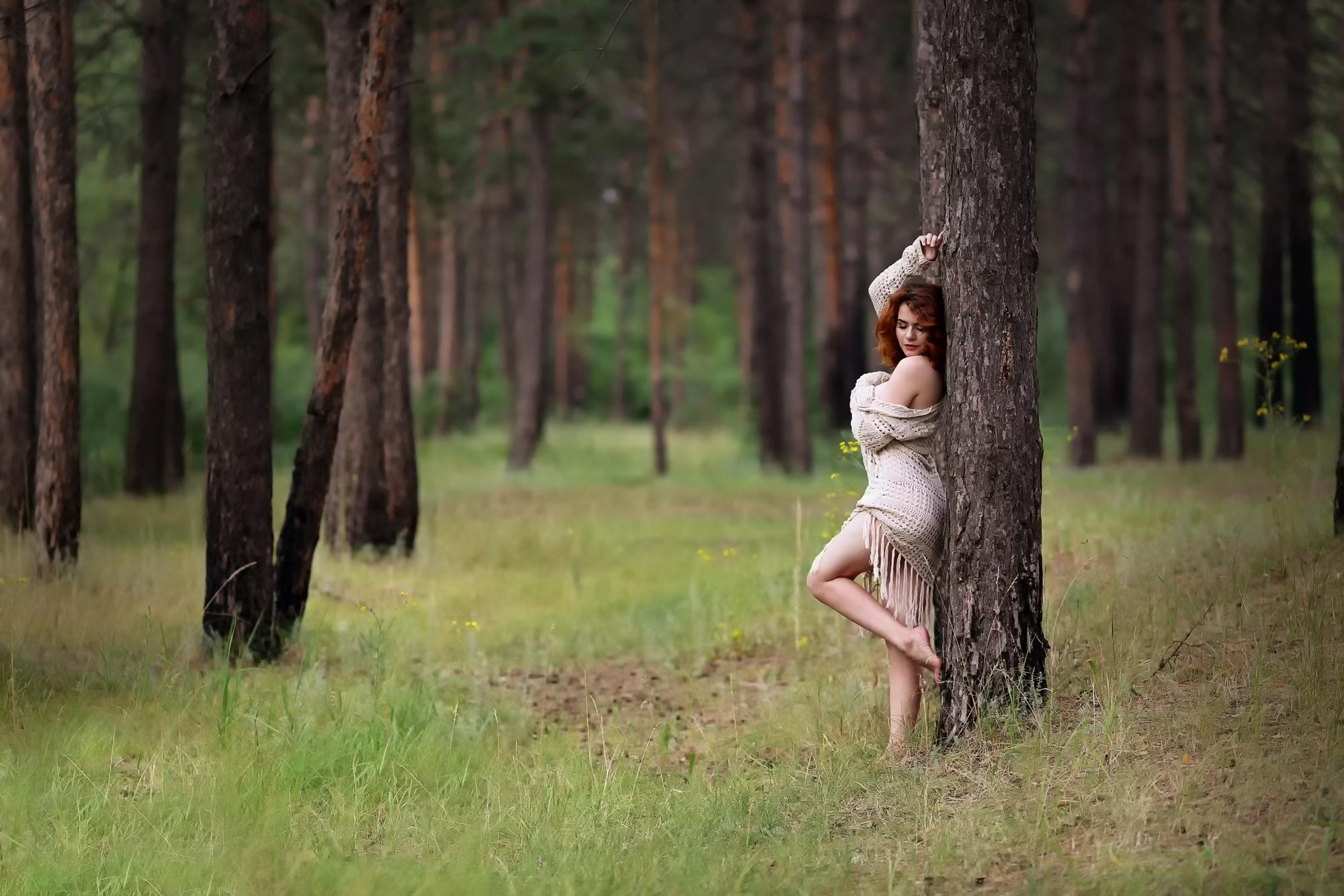 Мамки пор фото в лесу девишник моделей