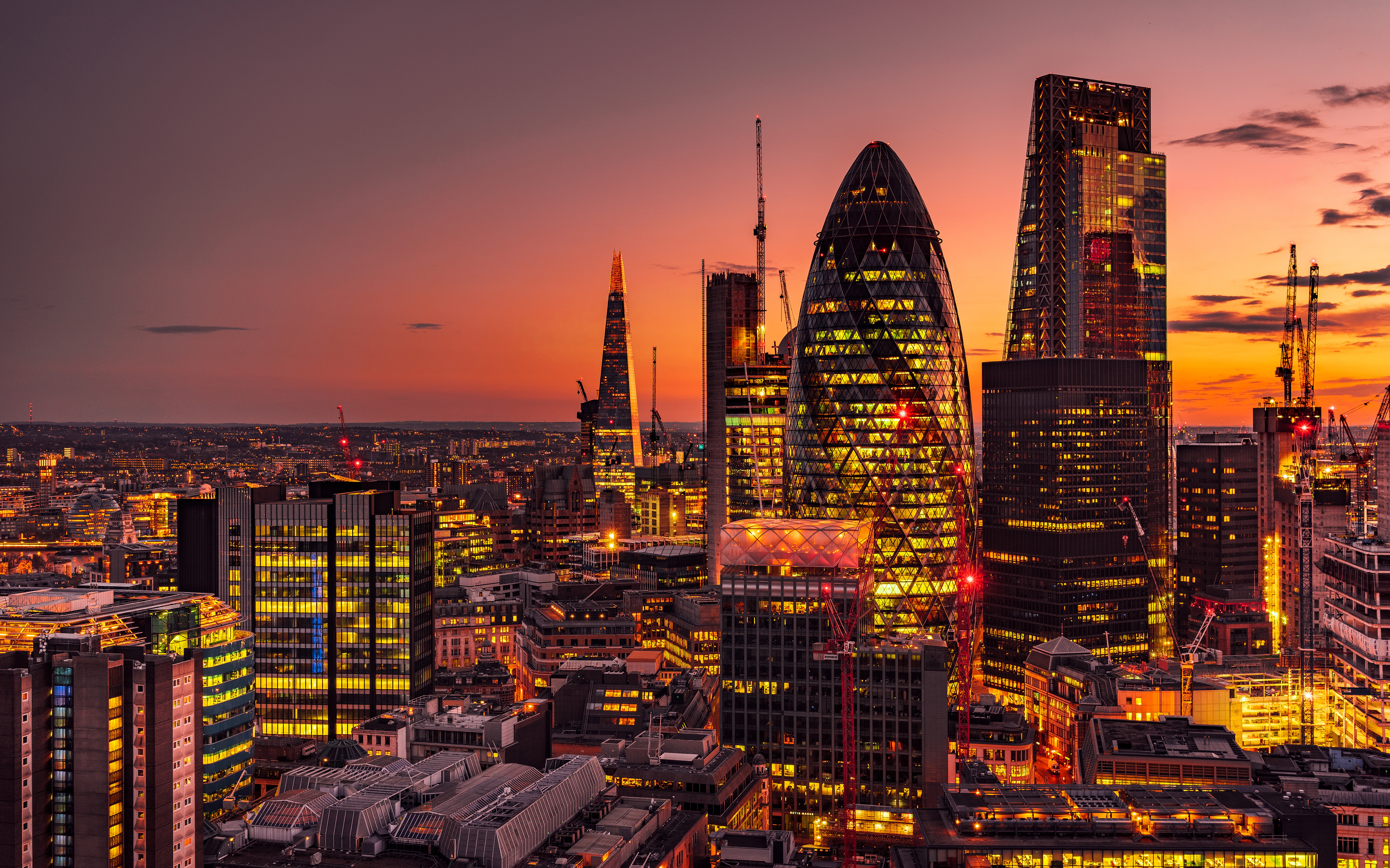 Обои london, Sunset. Города foto 14