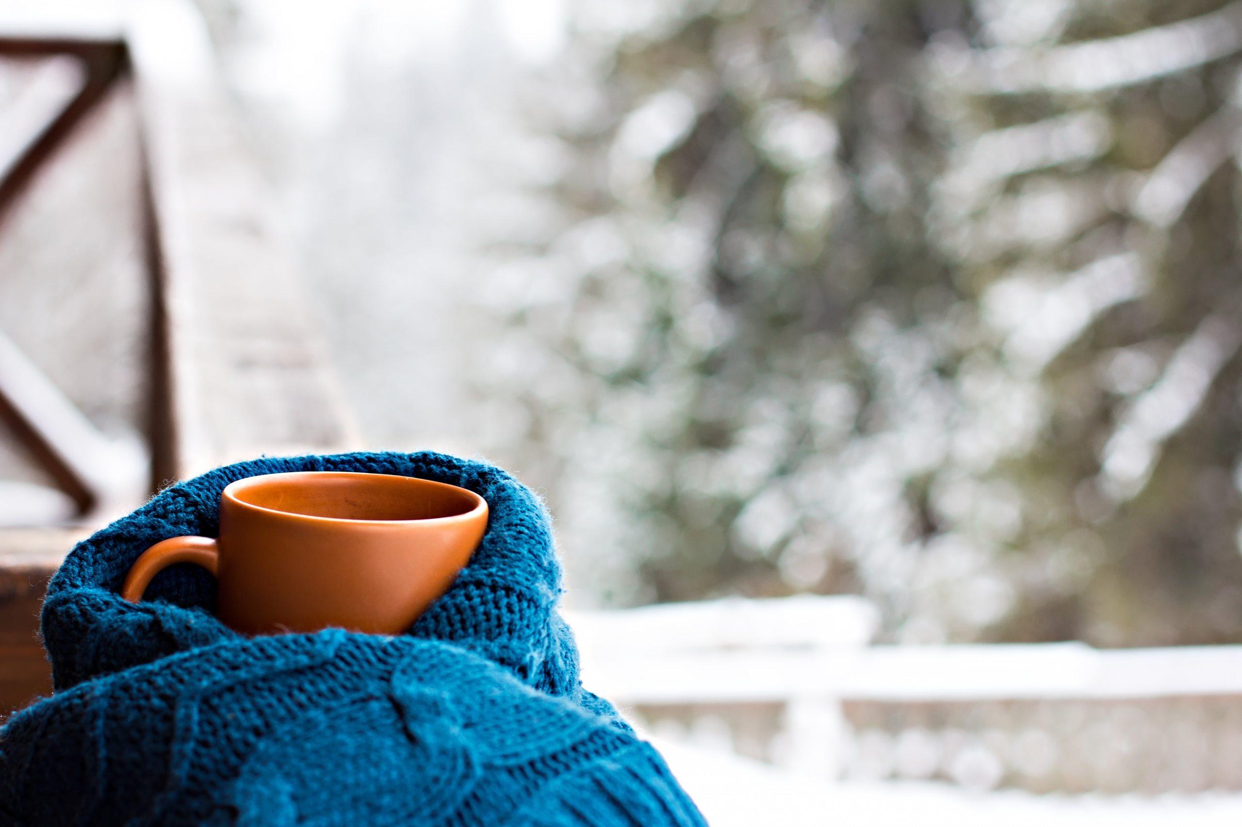 отсутствии собственно картинки чашка кофе на снегу злые