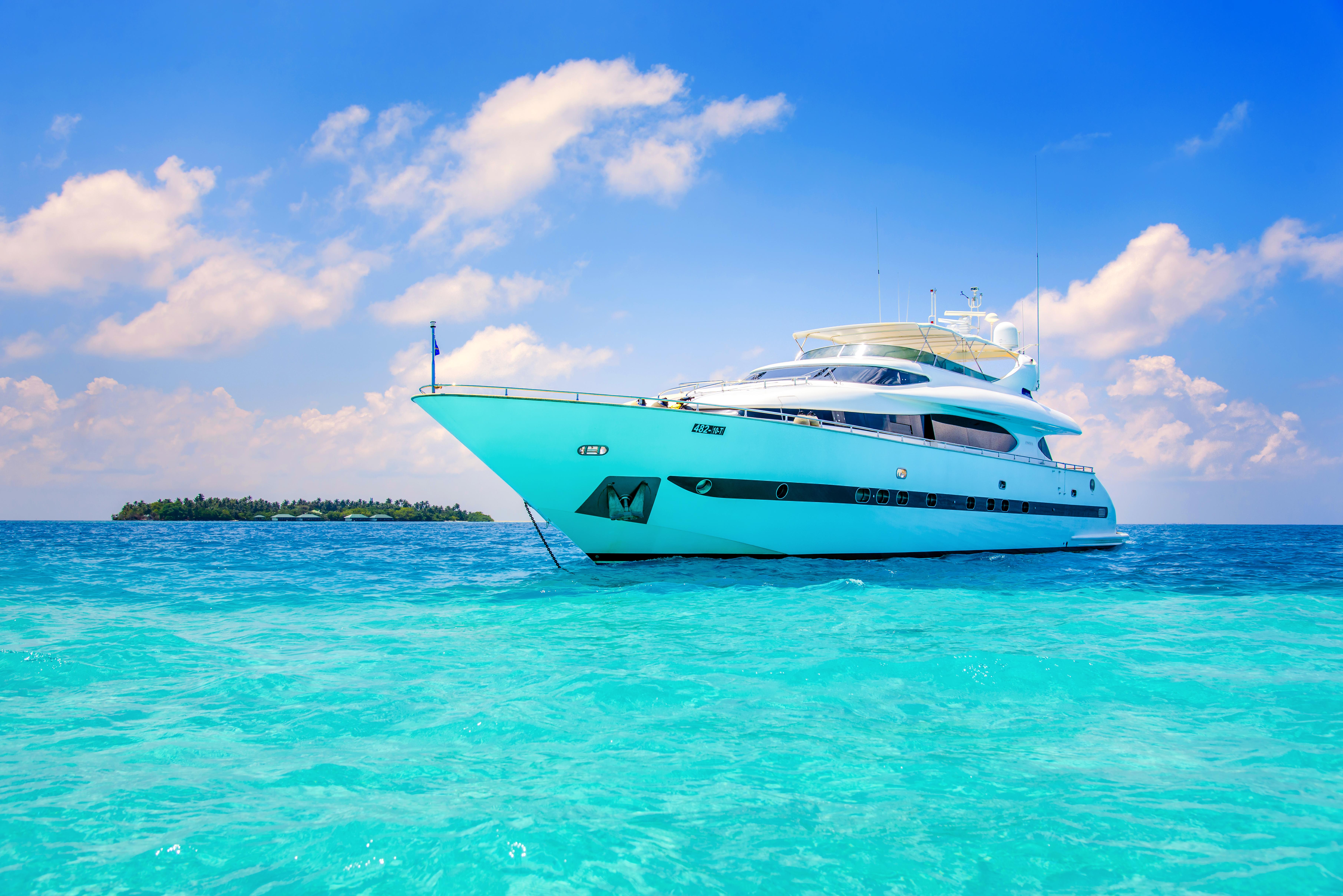 Картинки для, картинки с яхтой на море