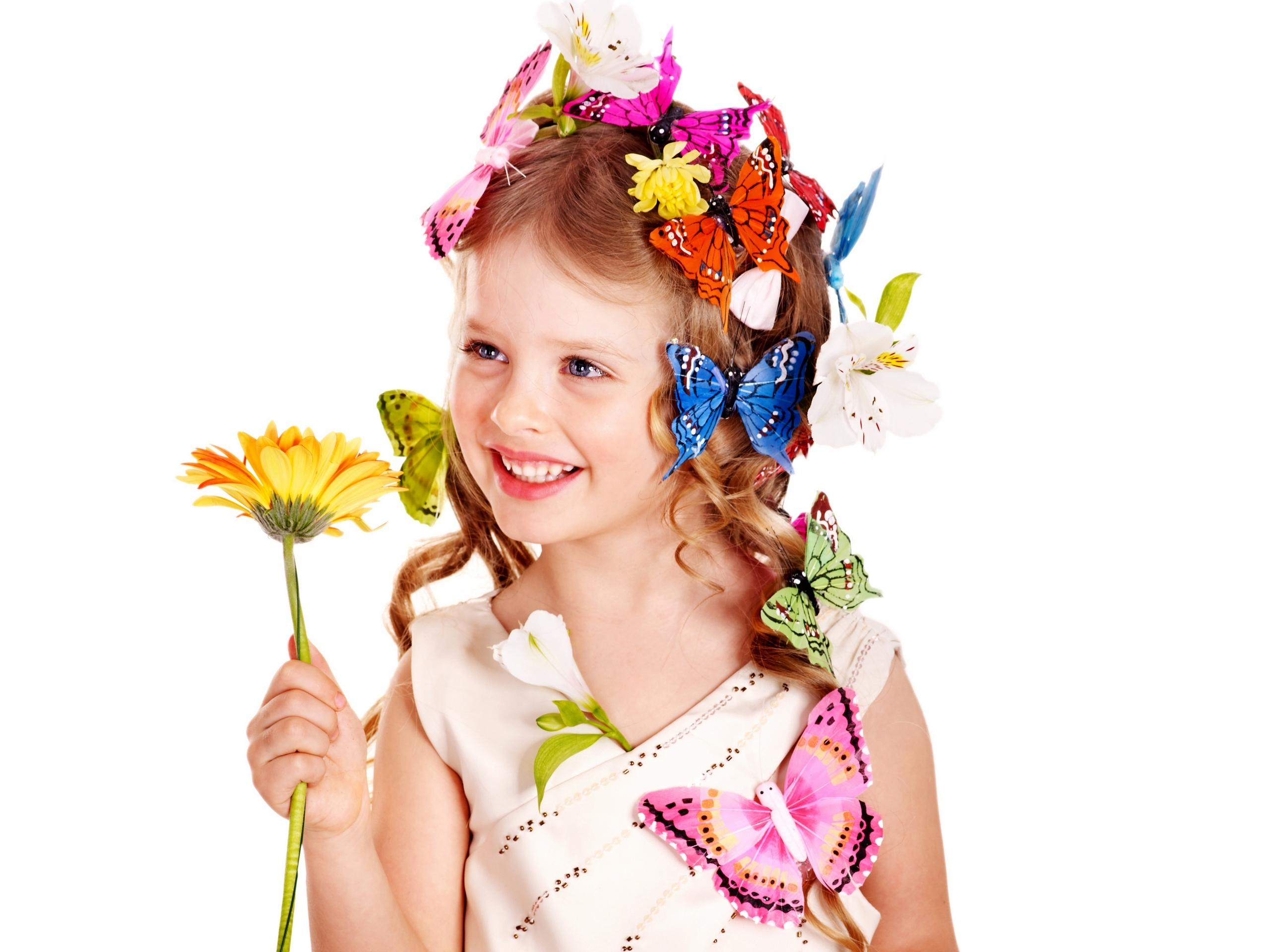Картинка ребенок с цветами на прозрачном фоне, новогодних открыток для