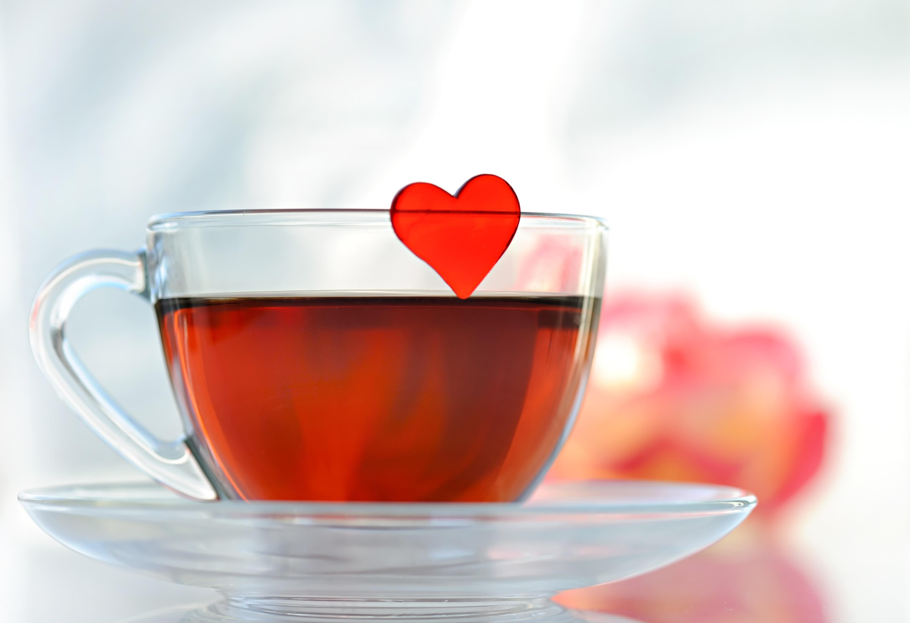 Открытка кружка чая