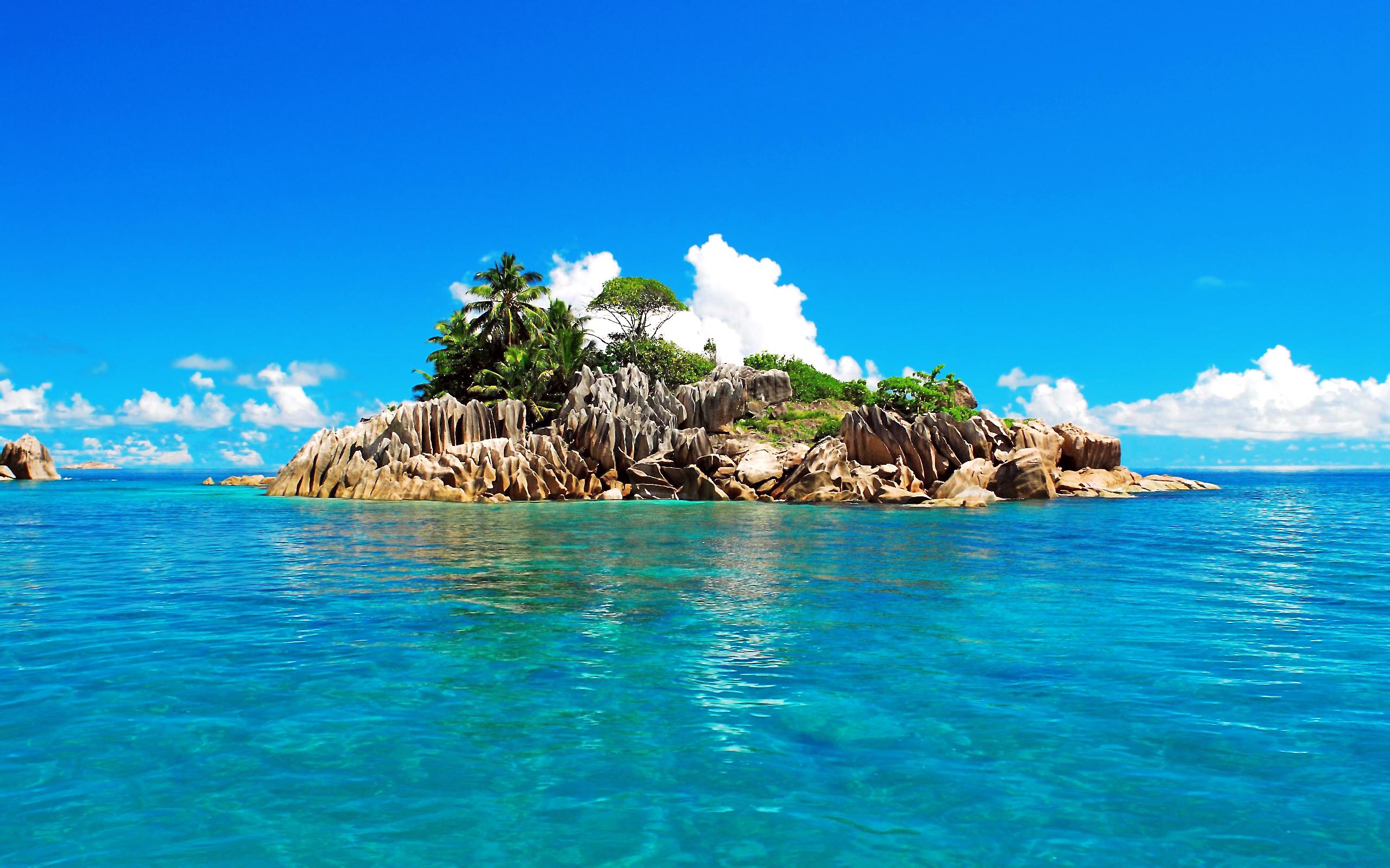 Остров в океане картинки это еще