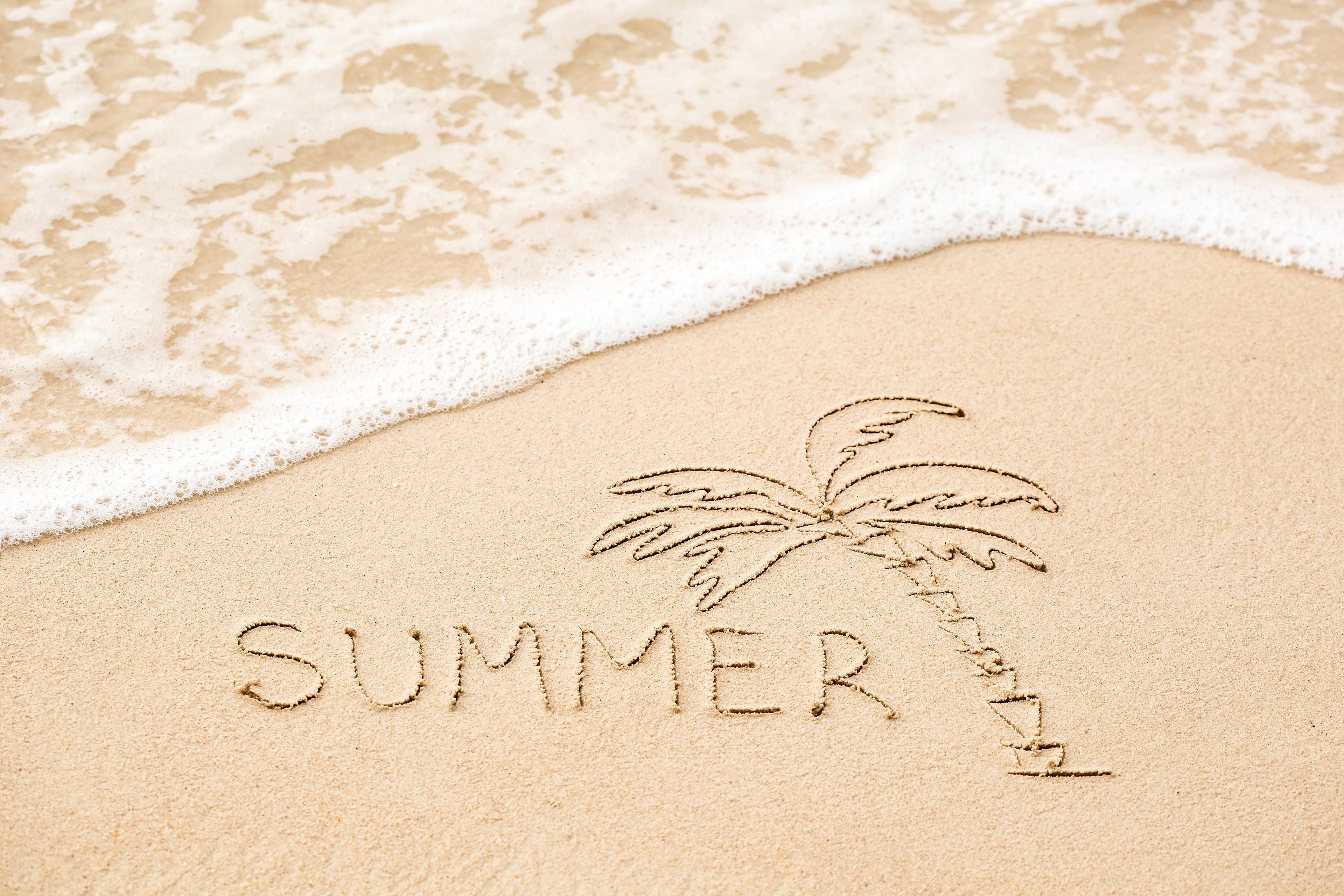 Лето в картинках с именами