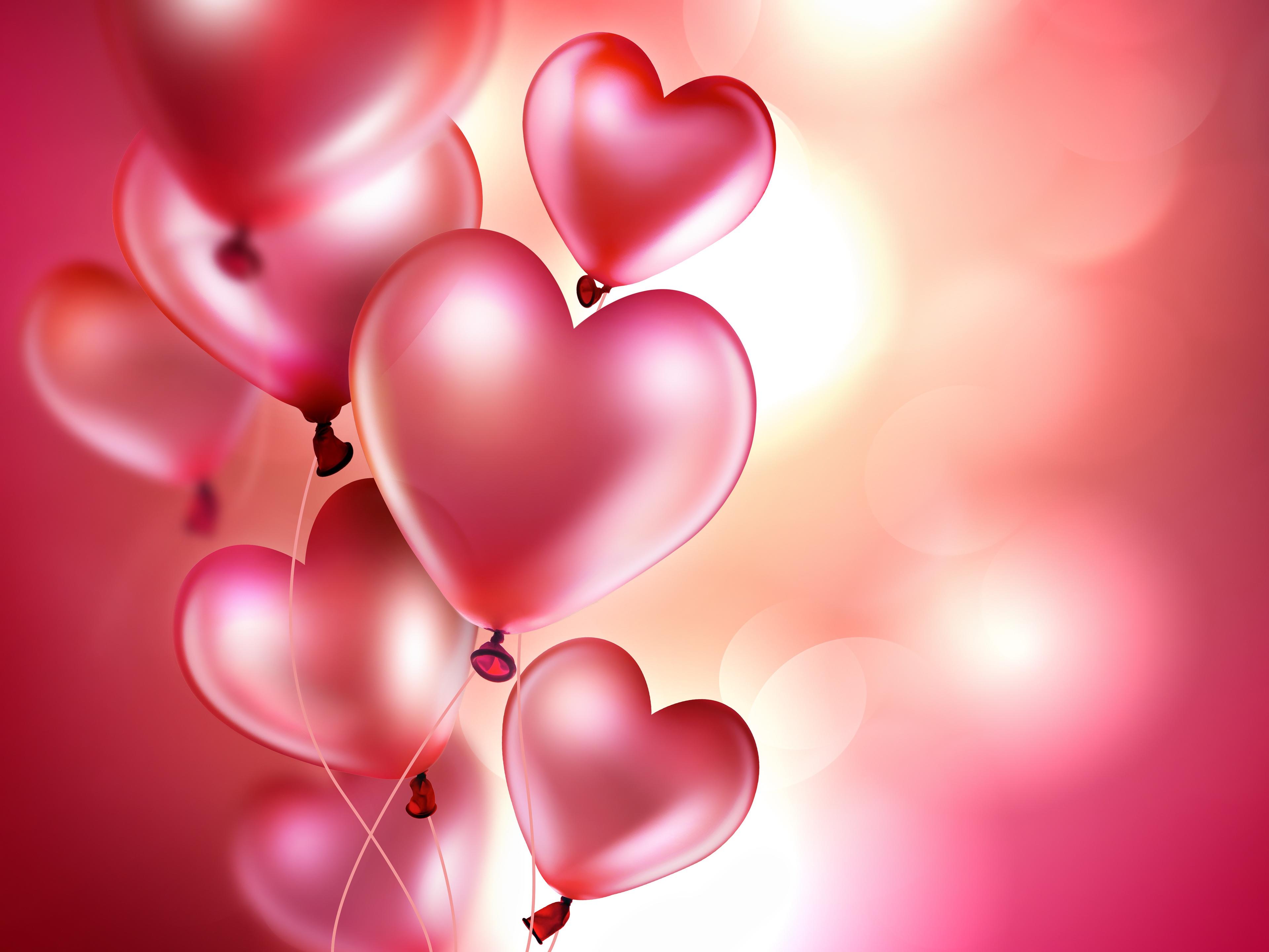 Мая смешная, открытка воздушные шары сердечки