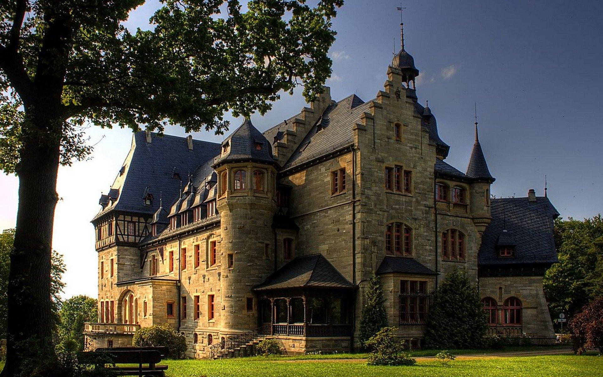 современный замок дворец фото рецептик