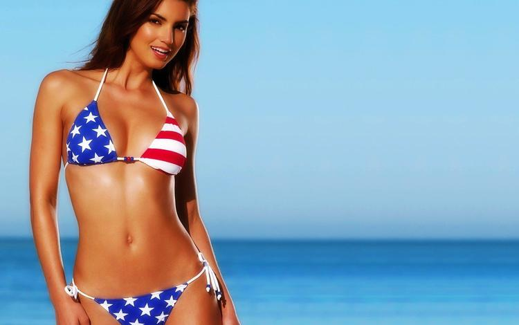 Bikini models in usa