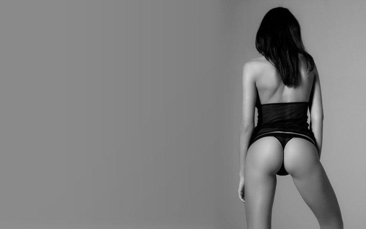 Если Вам понравилась картинка Вид со спины из раздела Девушки Черное и