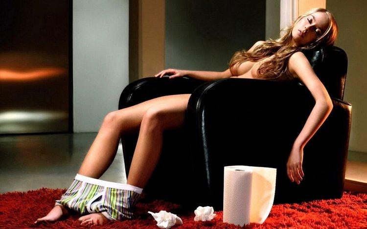 Обои девушка, мужик, парень, трусы для рабочего стола - картинка #18780, ск