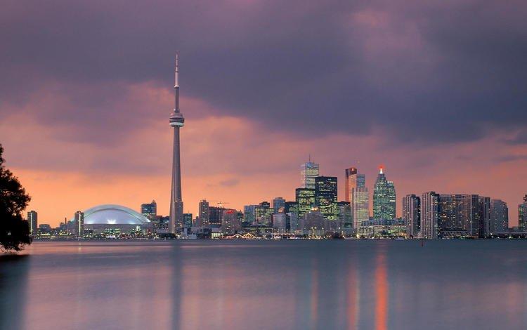 Скачать обои торонто онтарио канада
