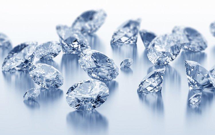 Обои бриллианты, драгоценные, камни, блеск, ювелирные изделия для ...