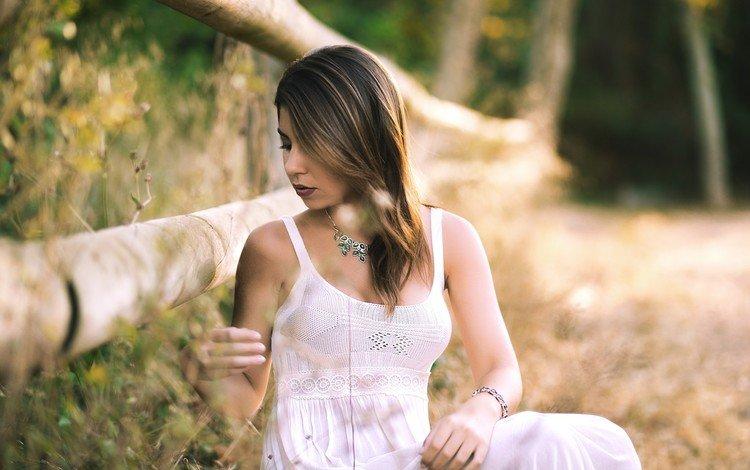 Красивые девки на природе очень