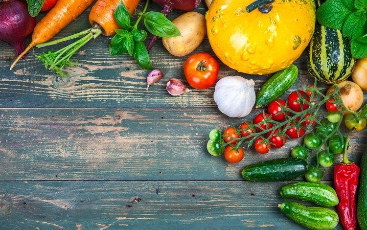 обои на рабочий стол овощи фрукты осень 15498