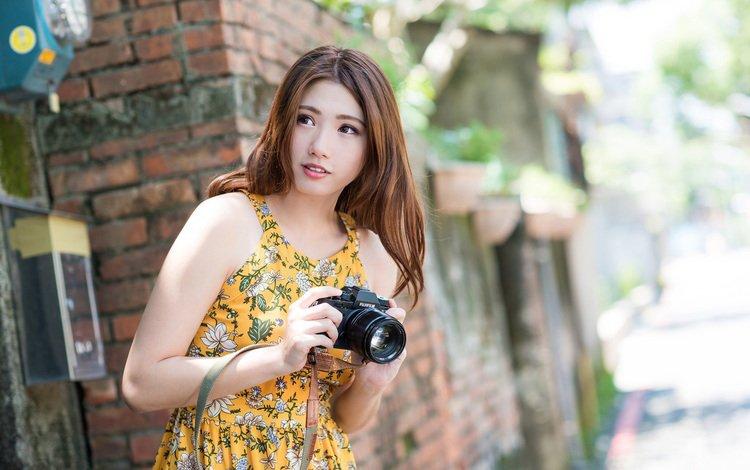 Woman Female Girl Asian Oriental Model Women Pandamovies 1