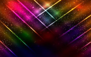 background, abstract, colorful, neon, glittering